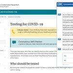 Coronavirus chatbot