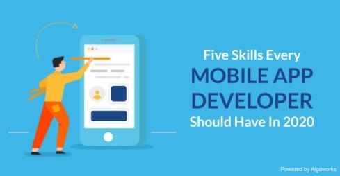 5 Trending Skills A Mobile App Developer can't Risk Avoiding in 2021