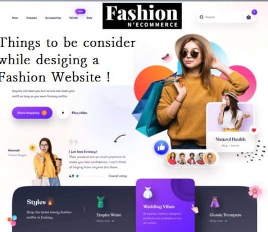 Design Fashion Website