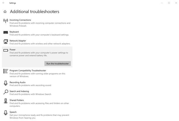 Troubleshoot